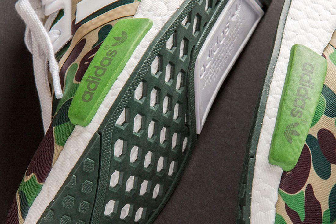 Bape Adidas Nmd 1 St Camo Olive 5