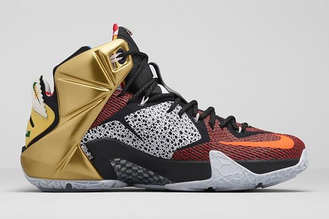 Nike Lebron 12 What The 1