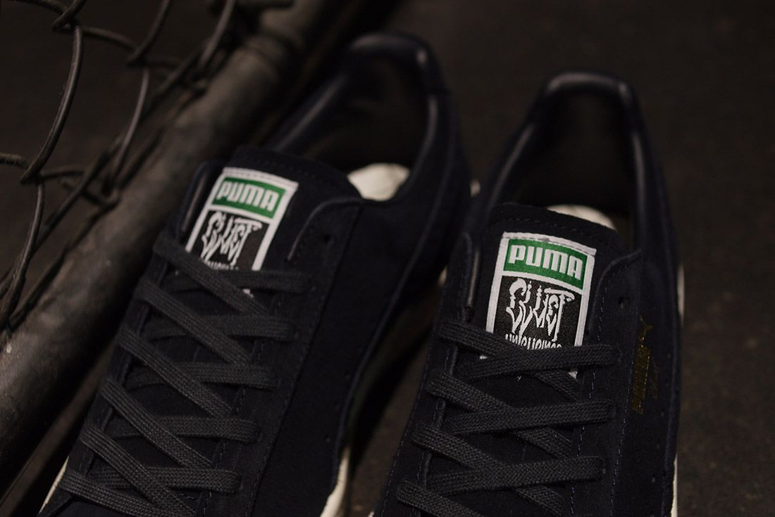 Cluct X Mita Sneakers X Puma Clyde Indigo 8