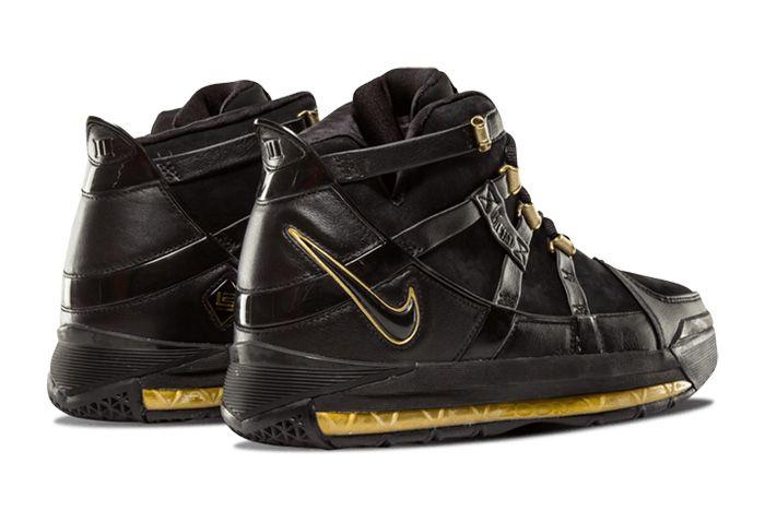Nike Zoom Lebron 3 Black Gold Sneaker Freaker 2