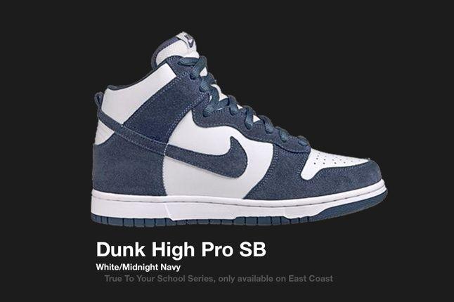 Nike Dunk Sb Midnight True School 2005 1