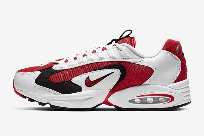 Nike Triax 2 White Red Left