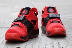 Nike Air Trainer Huarache Red Black Thumb