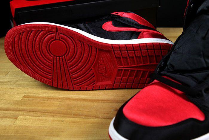 Air Jordan 1 Satin Bred 12