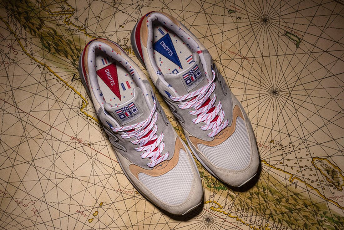 New Balance 999 Hyannis Concepts Red 2