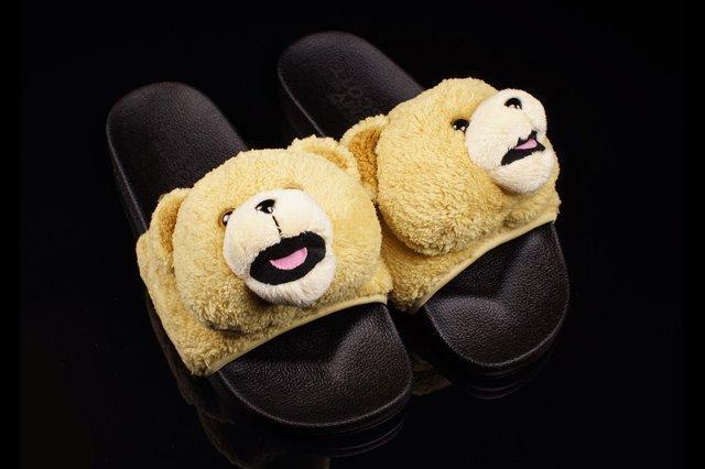 Adidas Jeremy Scott Slide Teddy 1