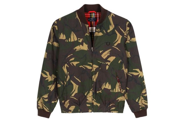 Fred Perry Laurel Wreath Camo Bomber 1
