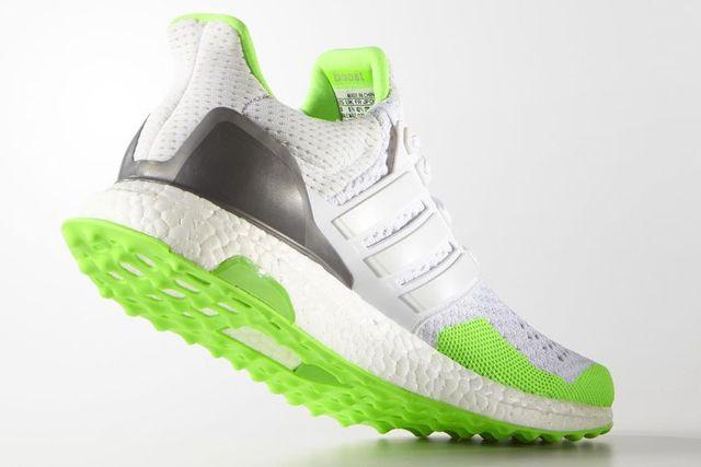 Kolor X Adidas Ultraboost Solar Green 1