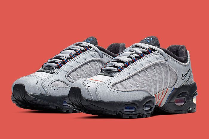 Nike Air Max Tailwind 4 Gs Grey Blue Orange Full Front