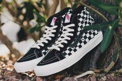 Vans Vault Sk8 Ho Checkerboard Black White Thumb