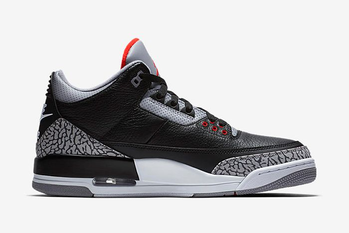 Air Jordan 3 Black Cement 2