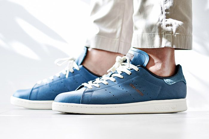 Adidas Stan Smith Horween Indigo Blue 6