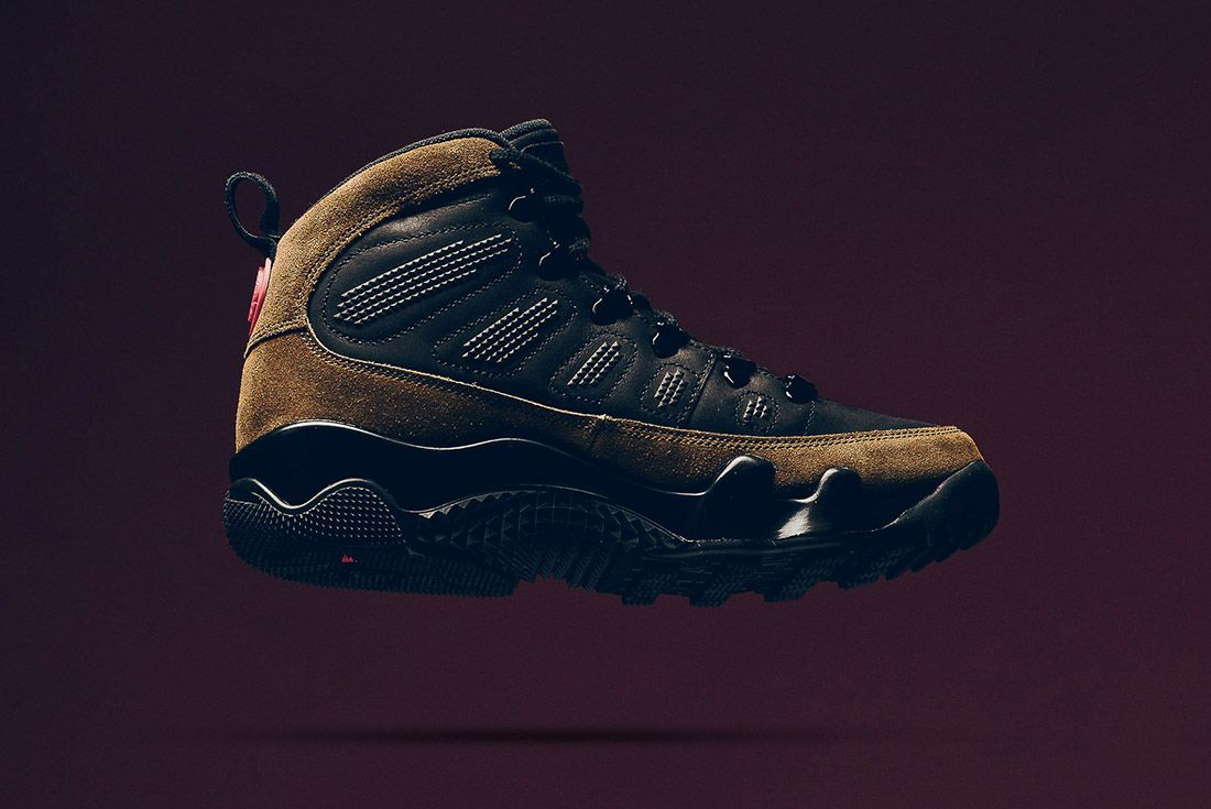 A Closer Look At The Air Jordan 9 Boot Nrg Olive10