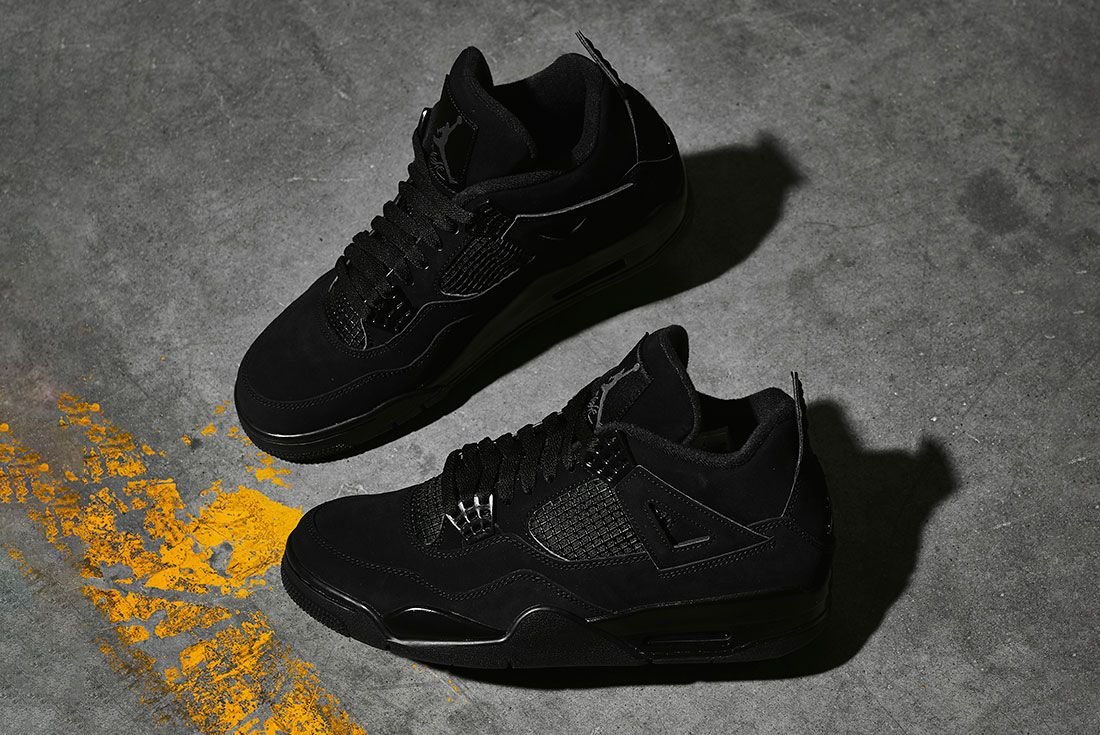 Air Jordan 4 Black Cat 2020 Retro Jd Sports Styled