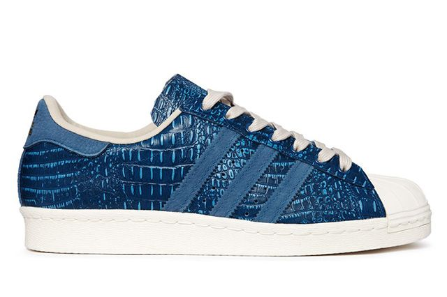 Adidas Superstar 80S Tribe Blue Reptile 3