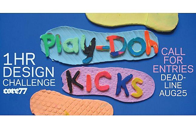 Play Doh Sneaker 1