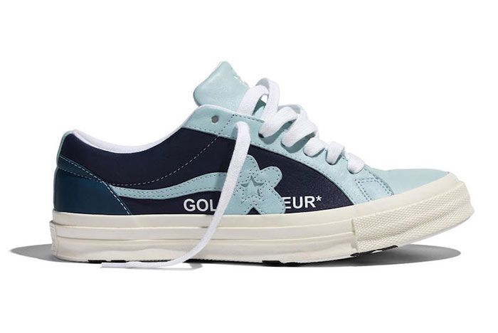 Golf Le Fleur Converse Industrial Pack Blue Right 2
