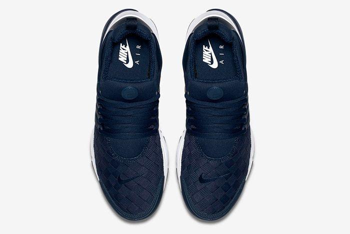 Nike Air Presto Woven Navy Blue 4