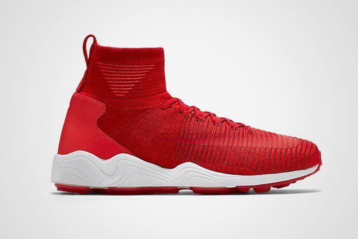 Nike Zoom Mercurial Xi Flyknit Red Thumb