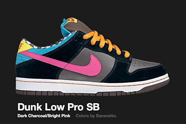 Nike Dunk Low Pro Sb Dark Charcoal 2008 1