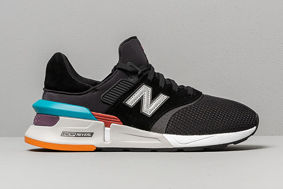 New Balance 997S Black Grey Multicolor Ms997Xtd Lateral