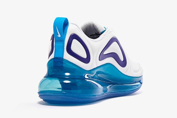 Nike Air Max 720 Spirit Teal Womens Heel
