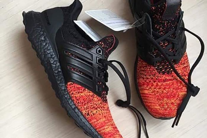 Adidas Ultra Boost Game Of Thrones Black Red 1