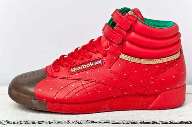 Reebok F S Hi Valentine Red Gold 1 3
