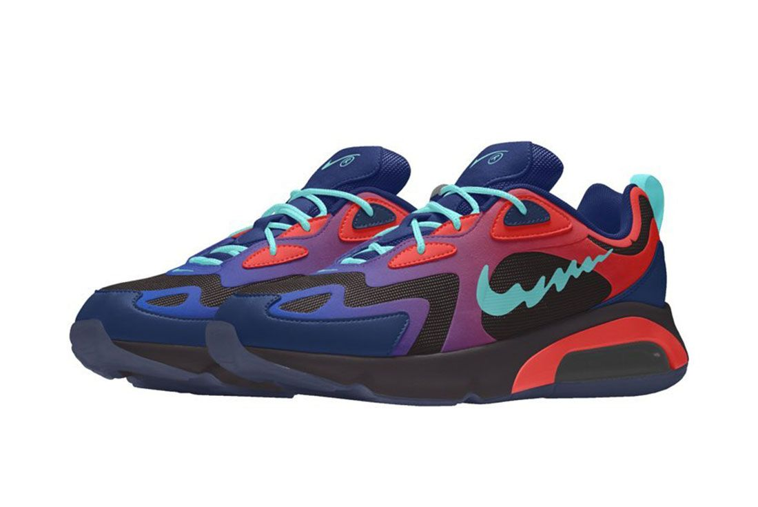 Zanestyles Nike By You Air Max 200 Render3