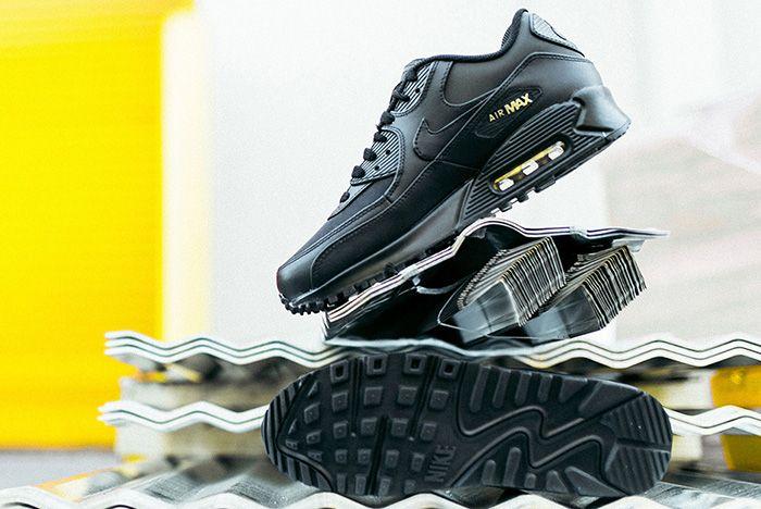Nike Air Max 90 Black Gold Sneaker Freaker 6