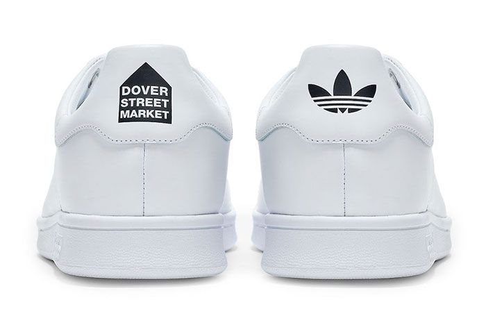 Dover Street Market Dsm Adidas Stan Smith White Heel