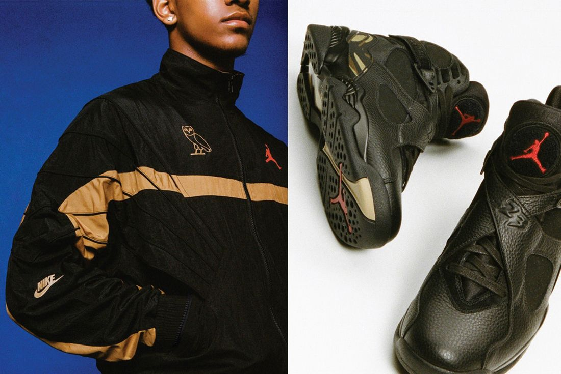 Drake X Air Jordan 8 Ovo 1