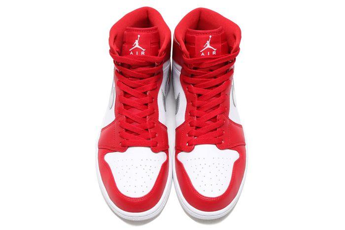 Air Jordan 1 High Redsilverwhite3