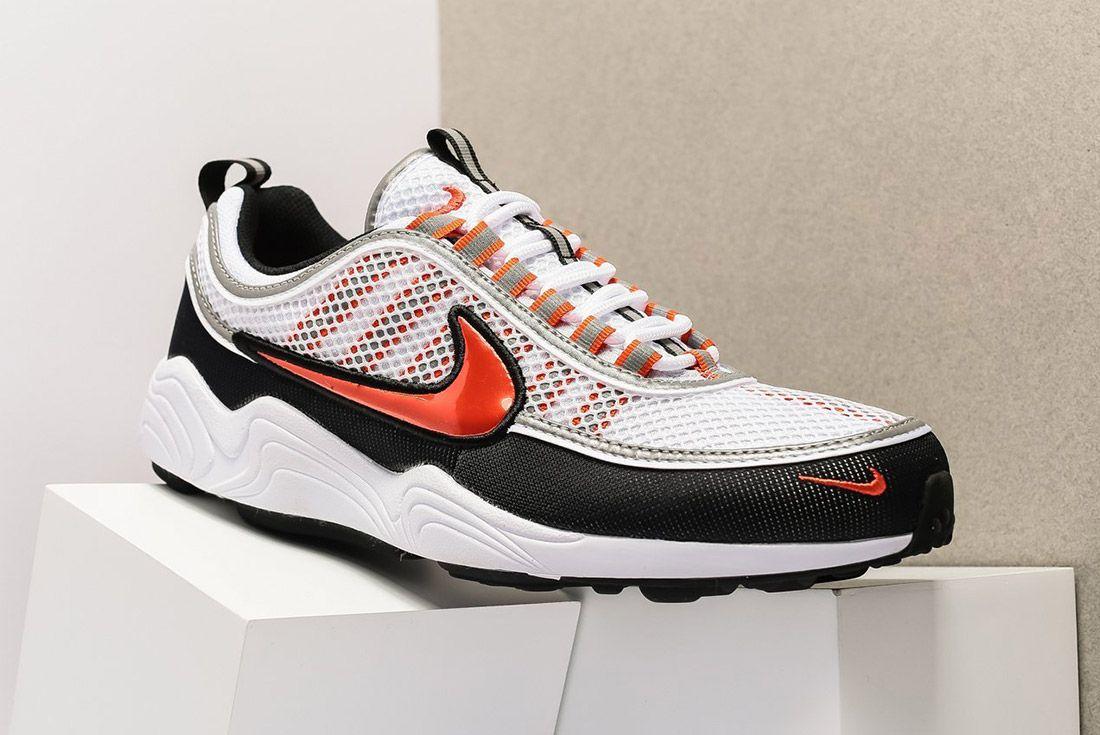 Nike Air Zoom Spiridon 16 926955 106 White Team Orange Sneaker Freaker 2