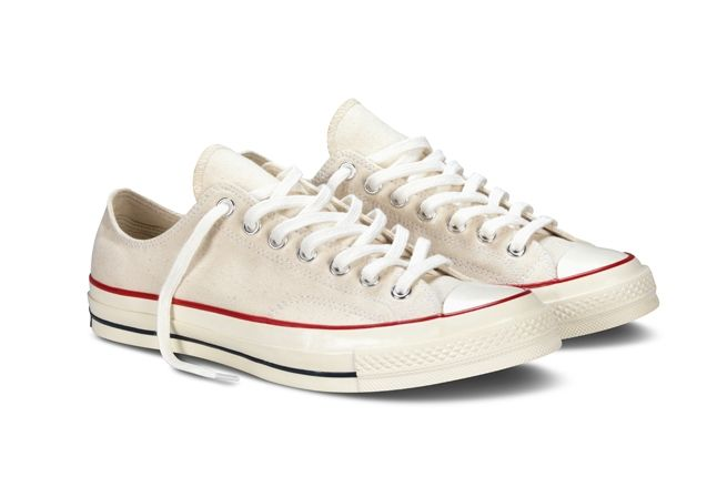 Converse 1970S Chuck Taylor All Star White Pair 1