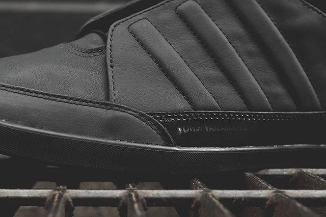 Adidas Y 3 Honja Triple Black Stud Pack 3