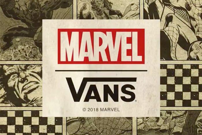 Marvel Vans