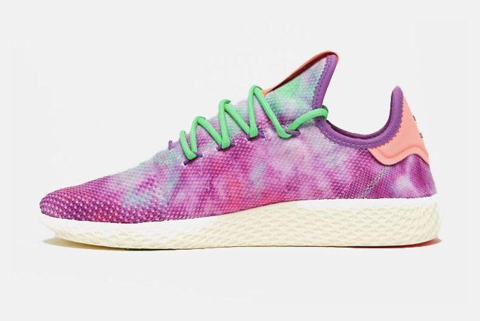 2 Pharrell X Adidas Tennis Hu Holi Powder Dye 1