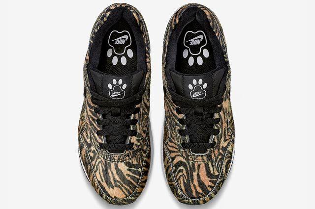 Nike Air Max 1 Gs Zoo Pack Tiger1