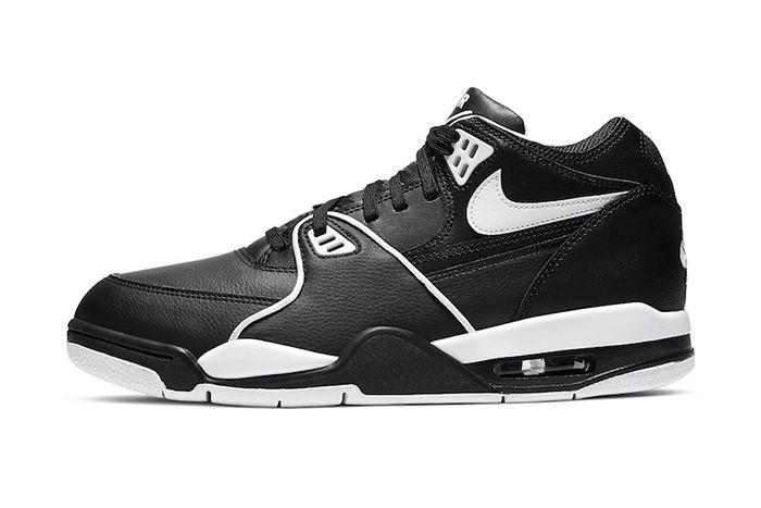 Nike Air Flight 89 Black White Cu4833 015 Release Date Lateral