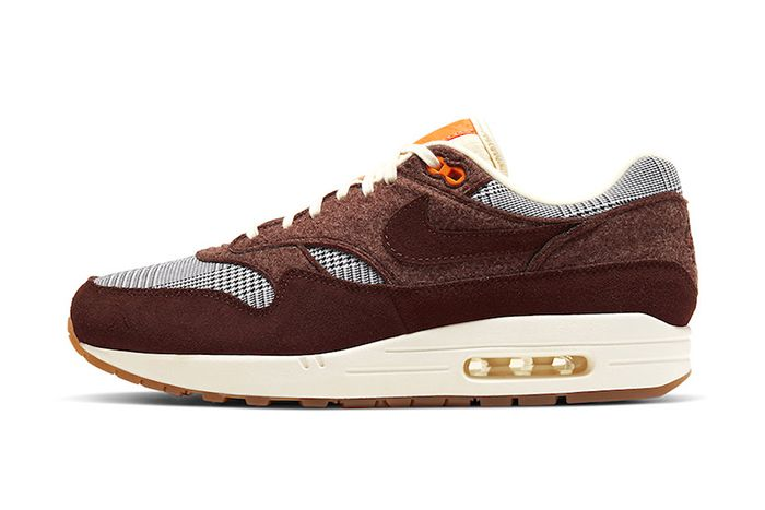 Nike Air Max 1 Houndstooth Ct1207 200 Release Date Lateral