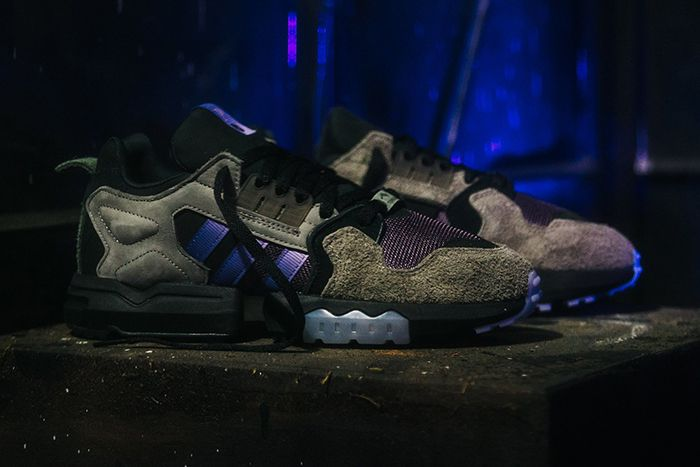 Packer Shoes Adidas Consortium Zx Torsion Mega Violet Release Date Hero Lateral