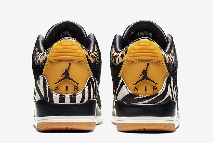 Air Jordan 3 Animal Instinct Heel