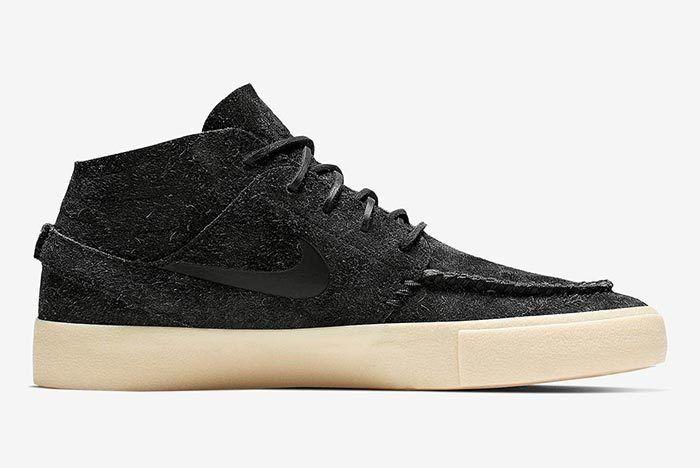 Nike Sb Janoski Mid Black 2