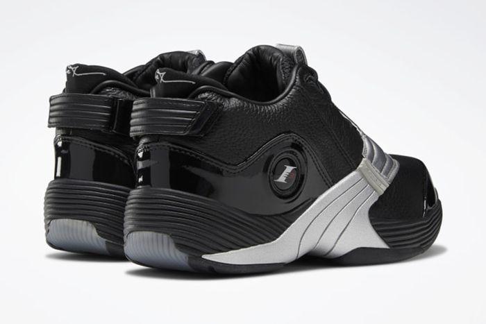 Reebok Answer V Black Matte Silver Dv6960 Release Date Heel