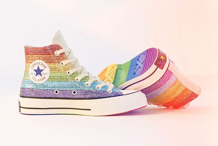 Miley Cyrus Converse Pride Month 1