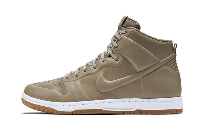 Nike Dunk High Crft Khaki 5