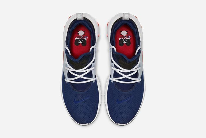 Nike Air Presto React Rabid Panda Above Shot