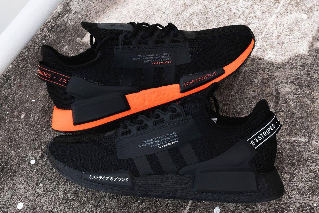 adidas NMD R1 V2 Japan JD Sports Black Orange