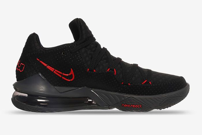 Nike Lebron 17 Low Bred Right